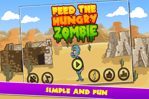 Feed The Hungry Zombie