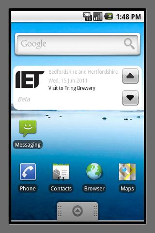 IET Events Beta - screenshot