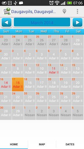 Luach Pro Jewish Calendar
