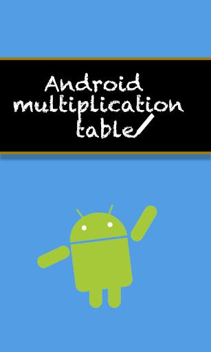 Tabuada do Android