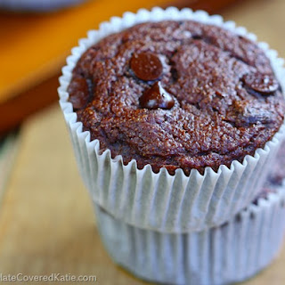 Low Fat Chocolate Muffins.