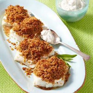 Breadcrumb-Crusted Cod for Two.