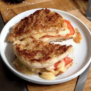 Inside-Out English Muffin Grilled Cheese
