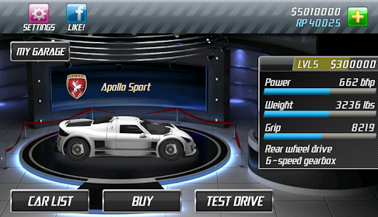 Drag Racing 1.7.61 MOD (Unlimited Money/Unlocked) 9