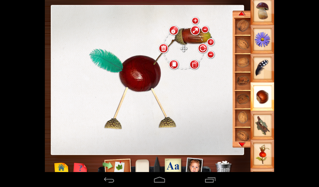 123 kids fun montessori craft android apps on google play for Create and craft app