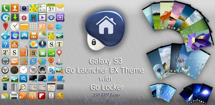 Galaxy S3 Go Theme and Locker apk