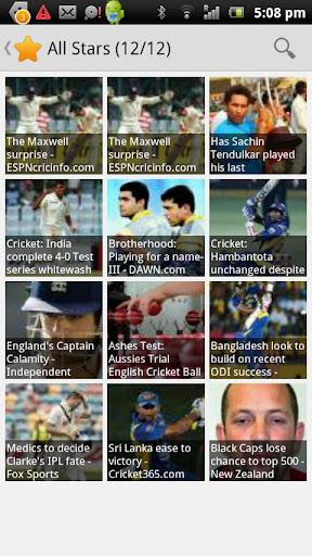 Cricketer News