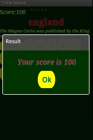 Quiz Mania - screenshot