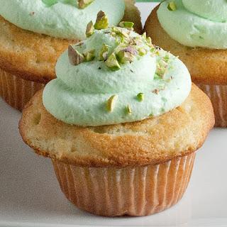 Pistachio Cupcakes.