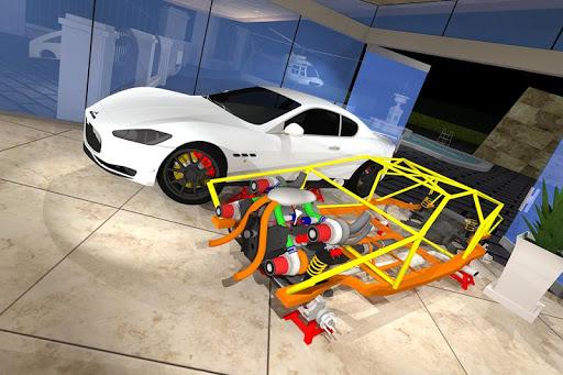 私の車を修正する:高級ビルド レース