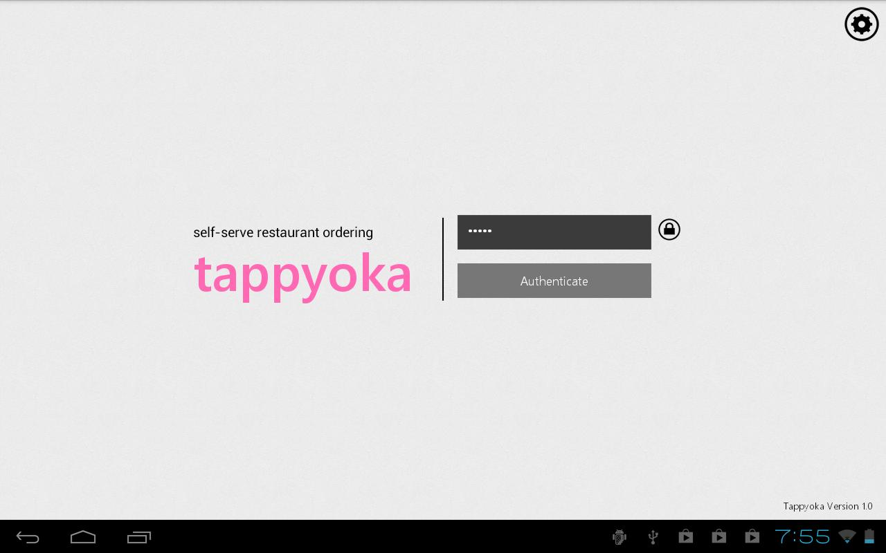 TappyOka CustomerMode- screenshot