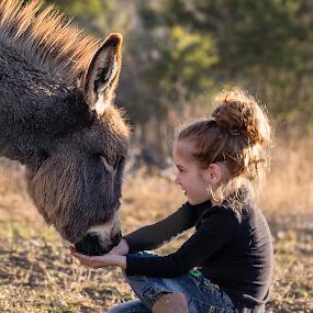 My Girl and Her Buddy by Kelley Hurwitz Ahr - Babies & Children Children Candids ( january 2014, uvalde,  )