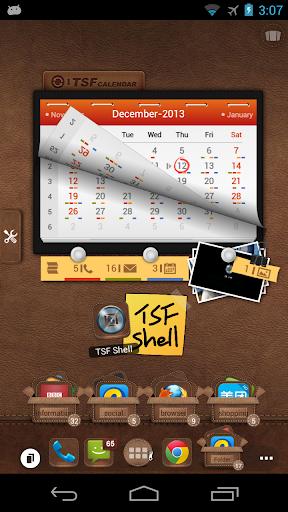 TSF 日曆小部件