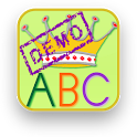 Kleuter-klieks alphabet icon