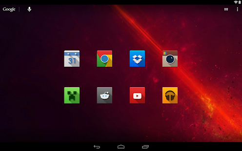 Nox - Icon Pack - screenshot thumbnail
