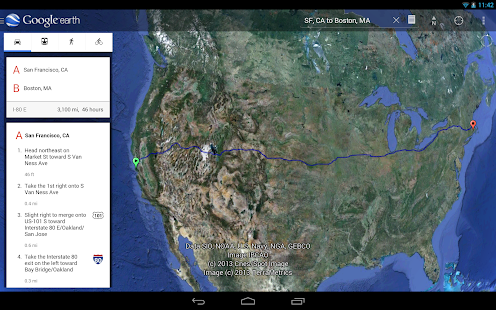 Google Earth - screenshot thumbnail