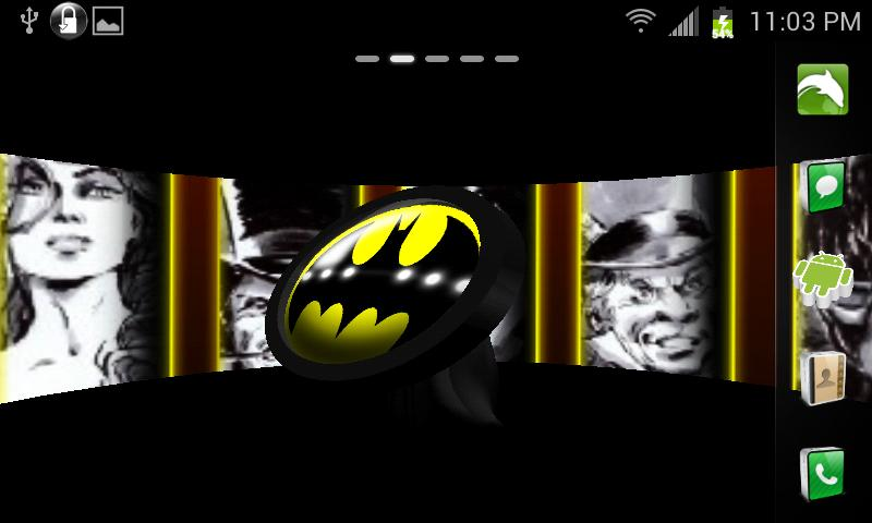BATMAN 3D Live Wallpaper - screenshot