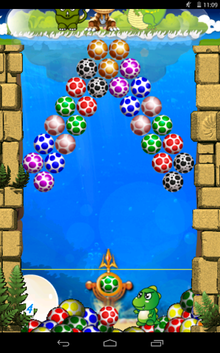 Игра Bubble Shoot для планшетов на Android