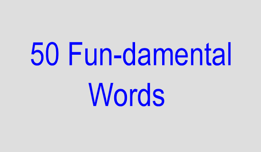 2 - 50 Fundamental Words Lite
