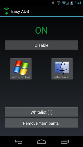 Easy ADB Wireless Whitelist