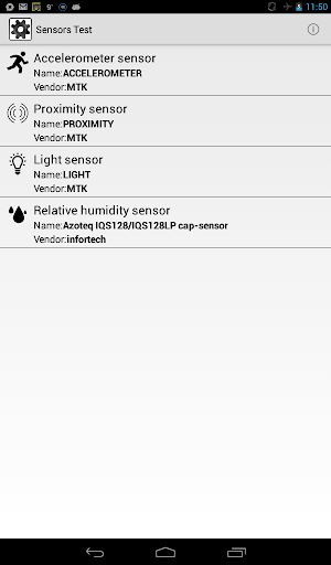 Sensors Explorer