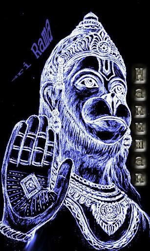 Hanuman Glow Live Wallpaper