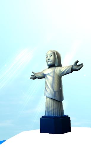 基督救世主雕像3D动态壁纸免费