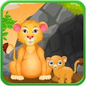 Lion Birth Girls Games icon
