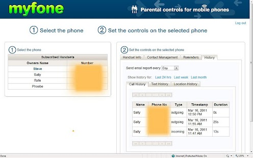 Parental Control for Mobile - screenshot thumbnail