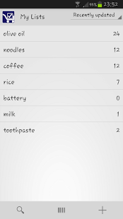Track My Grocery- screenshot thumbnail