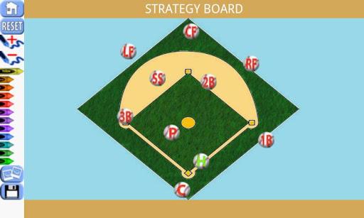 Baseball Clipboard Scoreboard