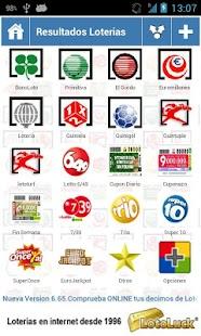Resultados Loterias y Apuestas- screenshot thumbnail