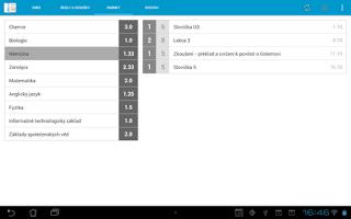 Screenshot of StudentBook