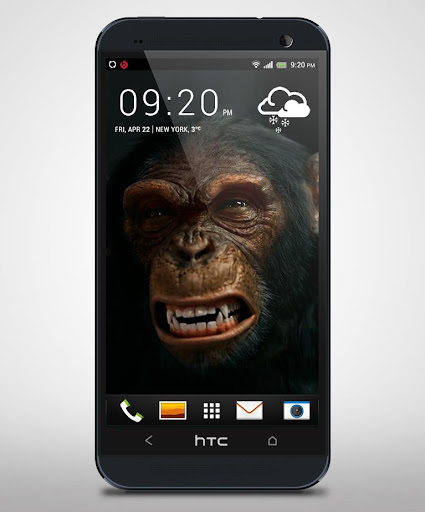 Evil Monkey 3D Live Wallpaper