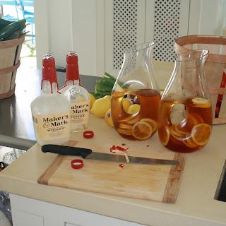 Watermelon and Bourbon Cocktail Recipe