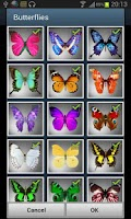Screenshot of Butterflies LITE LWP