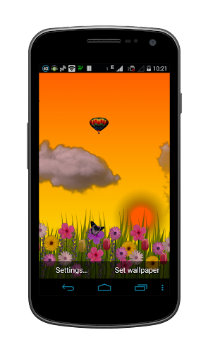 Beautiful Nexus Garden LWP HD