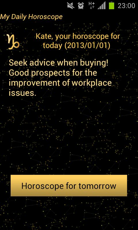 My Daily Horoscope - screenshot