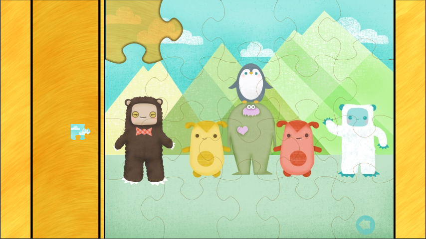 Monster Games for Kids: Puzzle- screenshot