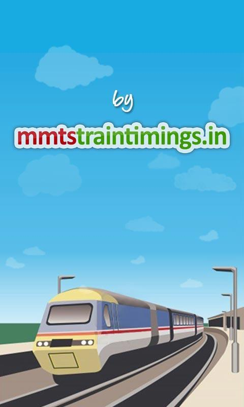 MMTS Train Timings- screenshot
