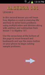Algebra 102 APK screenshot thumbnail 8