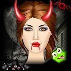 Halloween Strange Wicked Salon icon