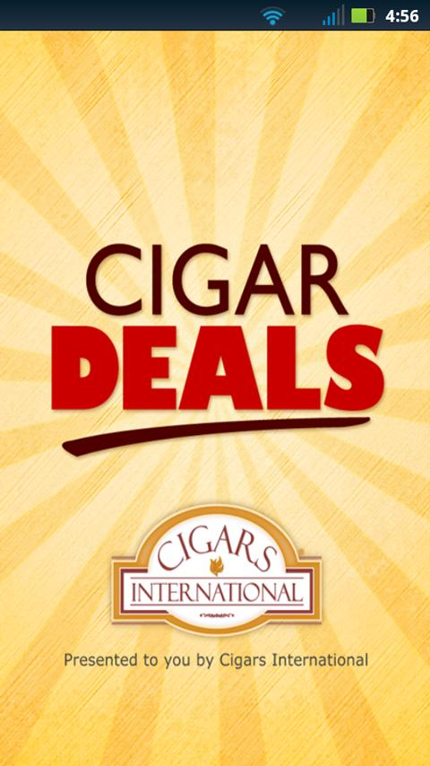 Cigar Deals - screenshot