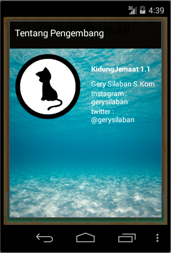 Screenshots of Kidung Jemaat for iPhone