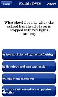 【免費教育App】Florida DMV Test 2014-APP點子