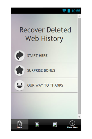 Recover Delete Web History Tip