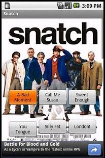 Snatch Sound Board