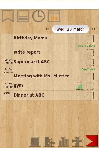 Todo-Calendar-Tracker-Notes - screenshot