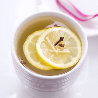 Ingredients List For The Lemon Ginger Detox Tea