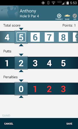 Golf GPS Rangefinder: Golf Pad 11.17 screenshot 351875